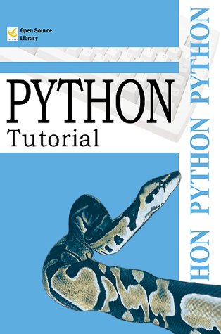 Large book cover: Python Tutorial