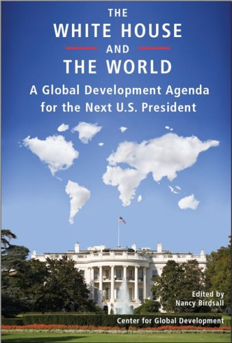 Large book cover: The White House and the World