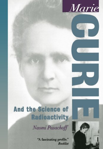 Large book cover: Marie Curie and the Science of Radioactivity