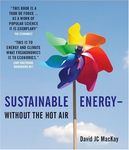 Large book cover: Sustainable Energy - Without the Hot Air