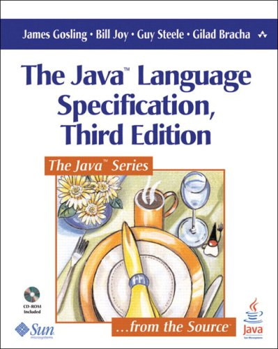 Large book cover: The Java Language Specification
