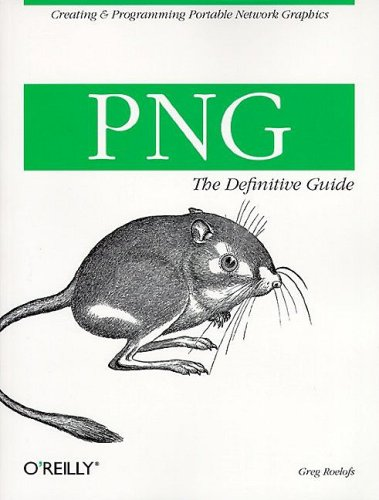 Large book cover: PNG: The Definitive Guide