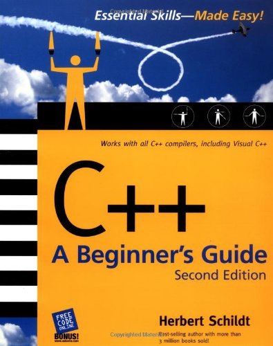 Large book cover: C++: A Beginner's Guide