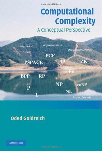 Large book cover: Computational Complexity: A Conceptual Perspective