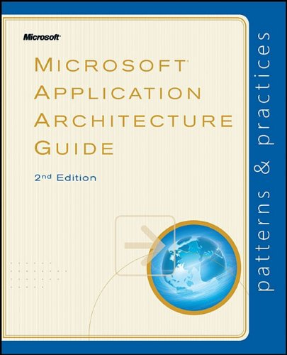 Large book cover: Microsoft Application Architecture Guide