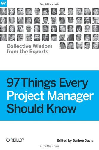Large book cover: 97 Things Every Project Manager Should Know