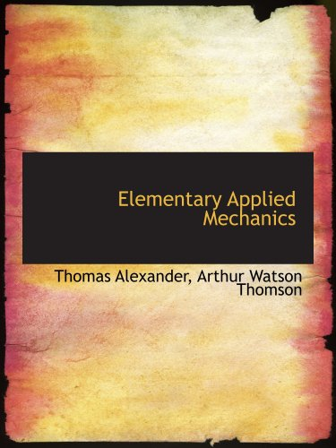 Large book cover: Elementary Applied Mechanics