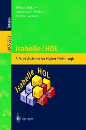 Large book cover: Isabelle/HOL: A Proof Assistant for Higher-Order Logic
