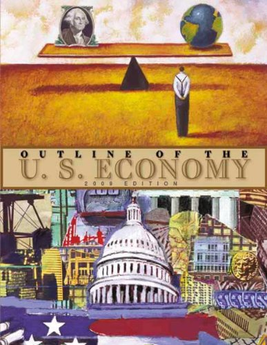 Large book cover: Outline of the U.S. Economy