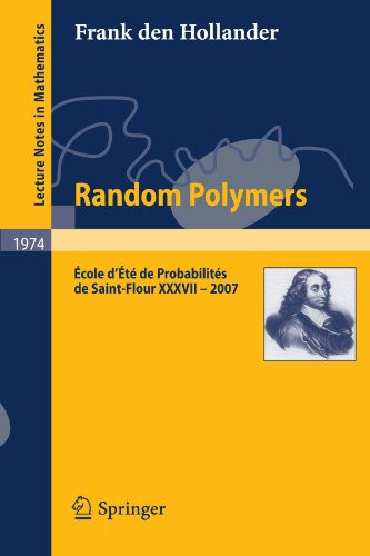 Large book cover: Lectures on Random Polymers