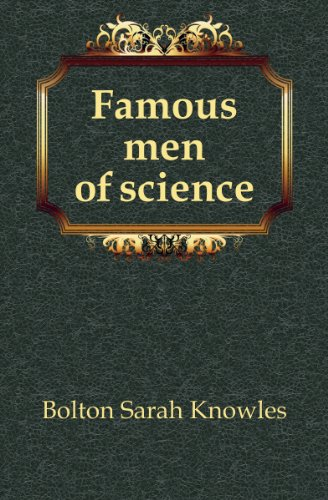 Large book cover: Famous Men of Science