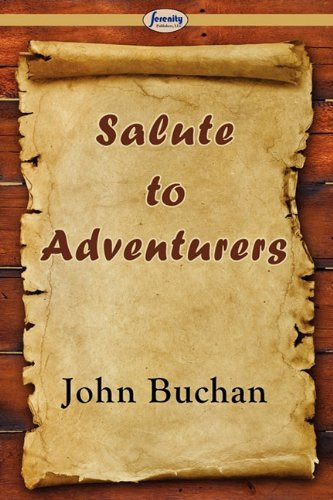 Large book cover: Salute to Adventurers