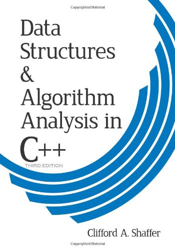 Large book cover: Data Structures and Algorithm Analysis in C++