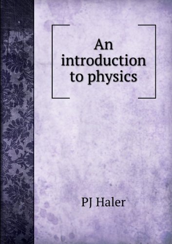 Large book cover: An Introduction to Physics