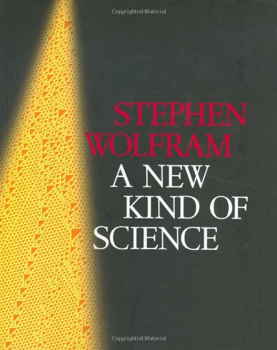 Large book cover: A New Kind of Science