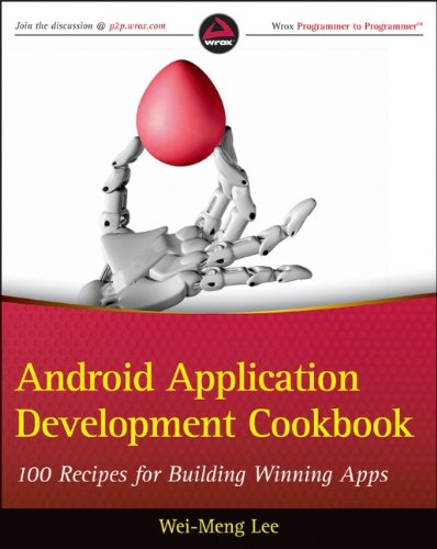 Large book cover: Android Application Development Cookbook
