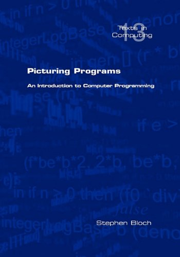 Large book cover: Picturing Programs: an Introduction to Computer Programming