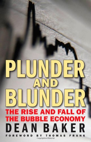 Large book cover: Plunder and Blunder: The Rise and Fall of the Bubble Economy