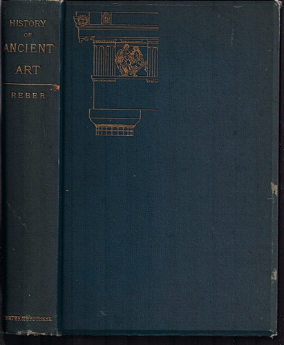 Large book cover: History of Ancient Art