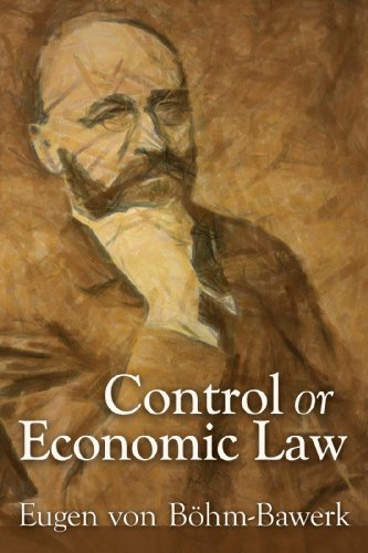 Large book cover: Control or Economic Law