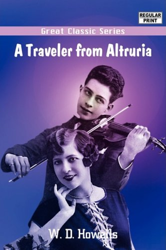Large book cover: A Traveler from Altruria