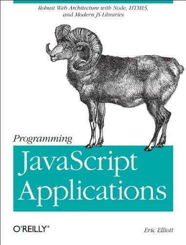 Large book cover: Programming JavaScript Applications