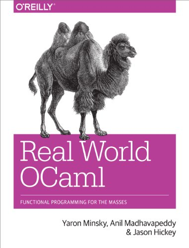 Large book cover: Real World OCaml: Functional programming for the masses